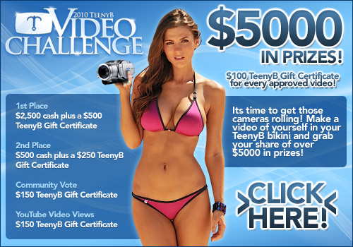 TeenyB Video contest